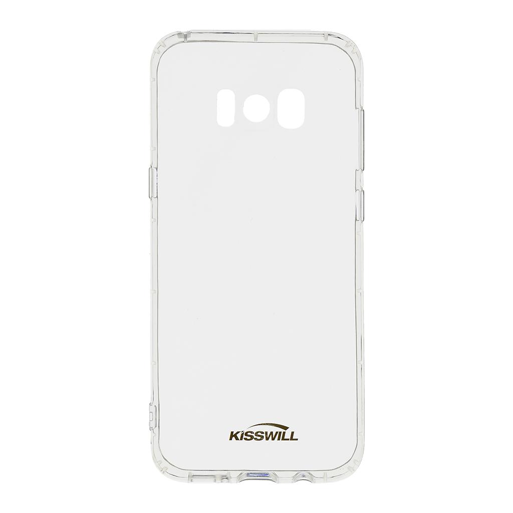 Kisswill Air silikonové pouzdro pro Samsung G955 S8 Plus, transparentní
