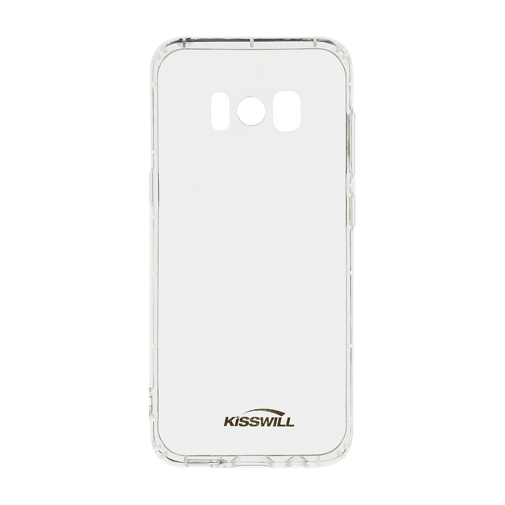 Kisswill Air silikonové pouzdro pro Samsung G950 S8, transparentní