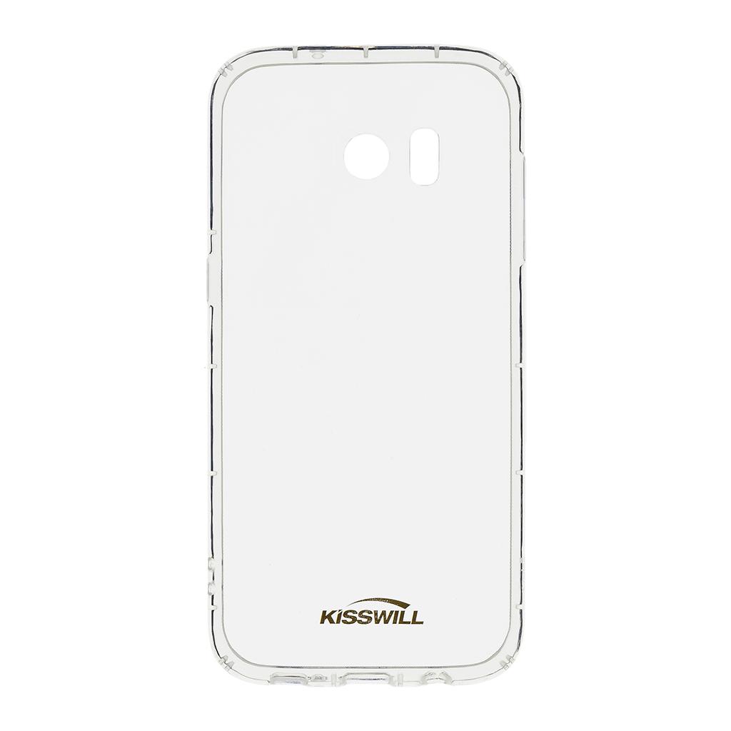 Kisswill Air silikonové pouzdro pro Samsung G935 S7 Edge, transparentní