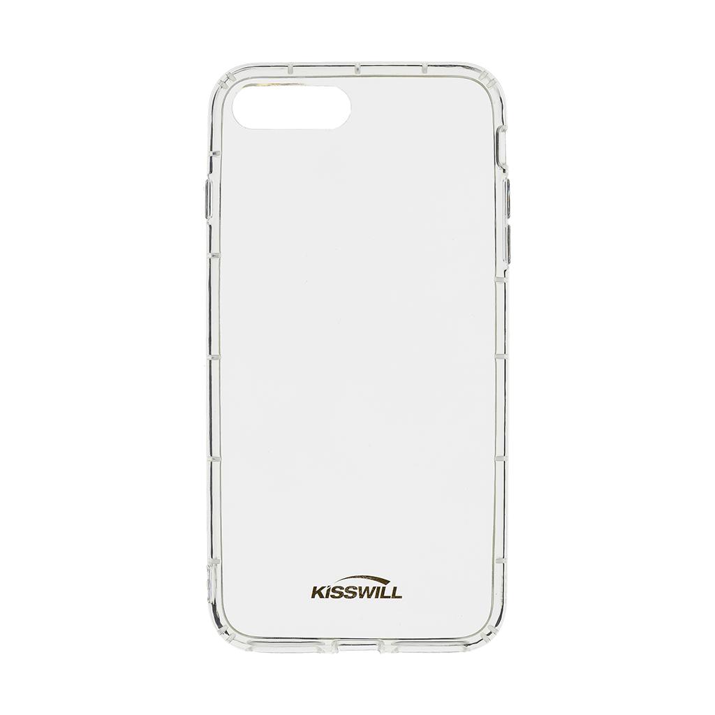 Kisswill Air silikonové pouzdro pro Apple iPhone 7 Plus, transparentní