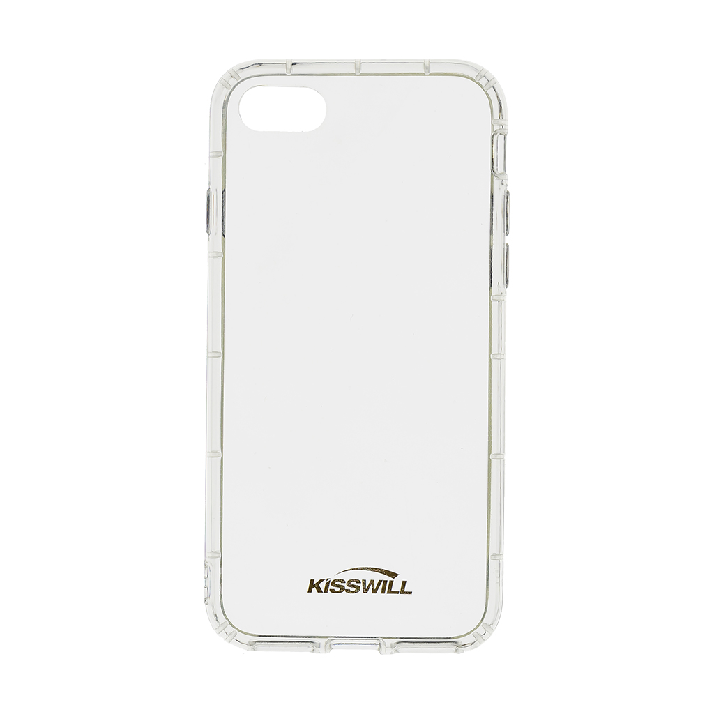 Kisswill Air silikonové pouzdro pro Apple iPhone 7, transparentní