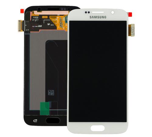 LCD + dotyková deska Samsung Galaxy S6 white