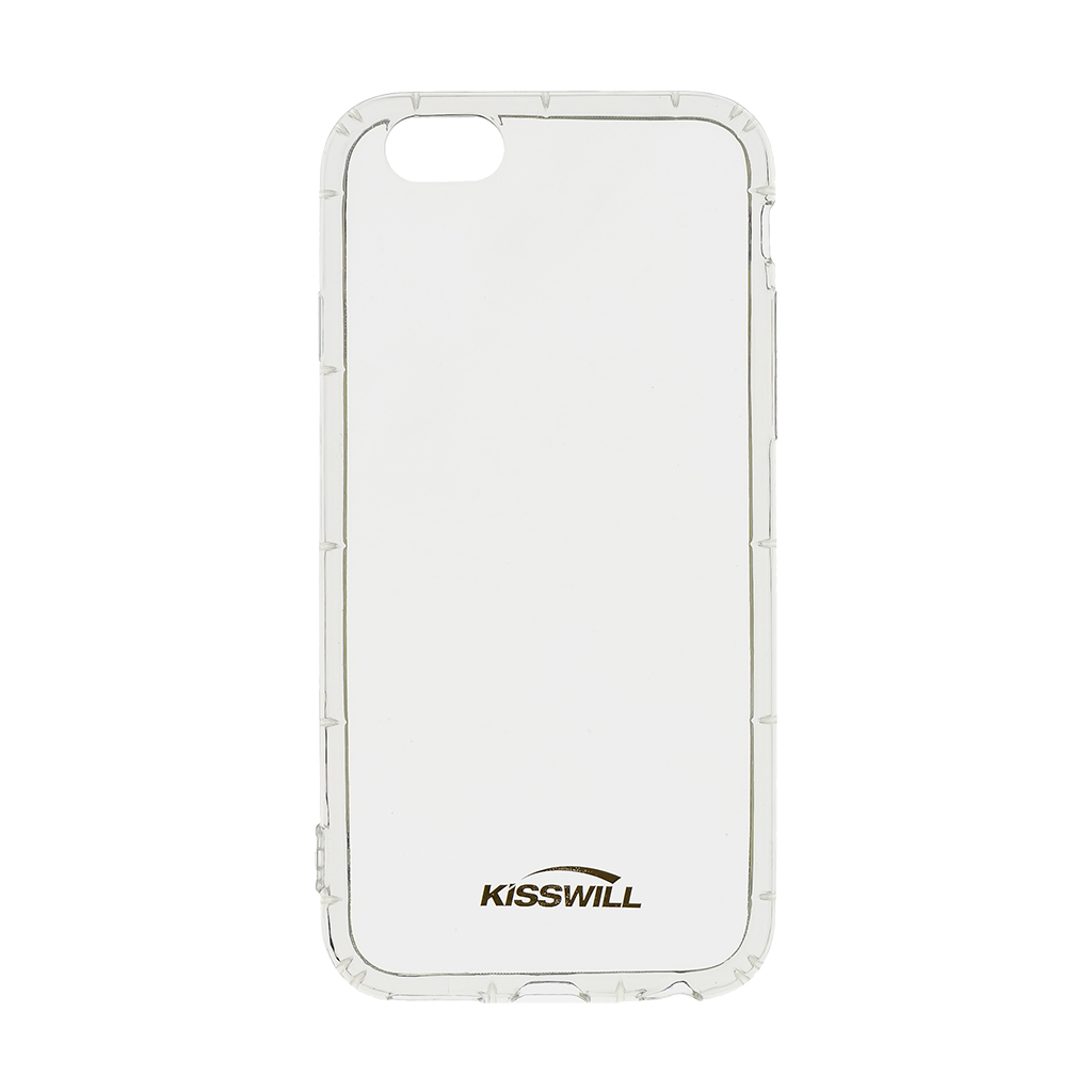 Kisswill Air silikonové pouzdro pro Apple iPhone 6/6S, transparentní