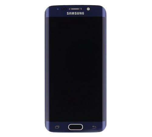 LCD + dotyk + př. kryt Samsung Galaxy S6 edge black