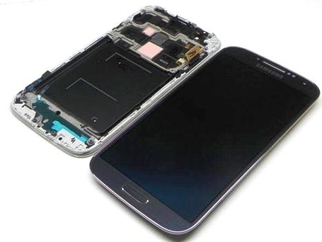 LCD + dotyk + př. kryt Samsung i9505 Galaxy S4 black