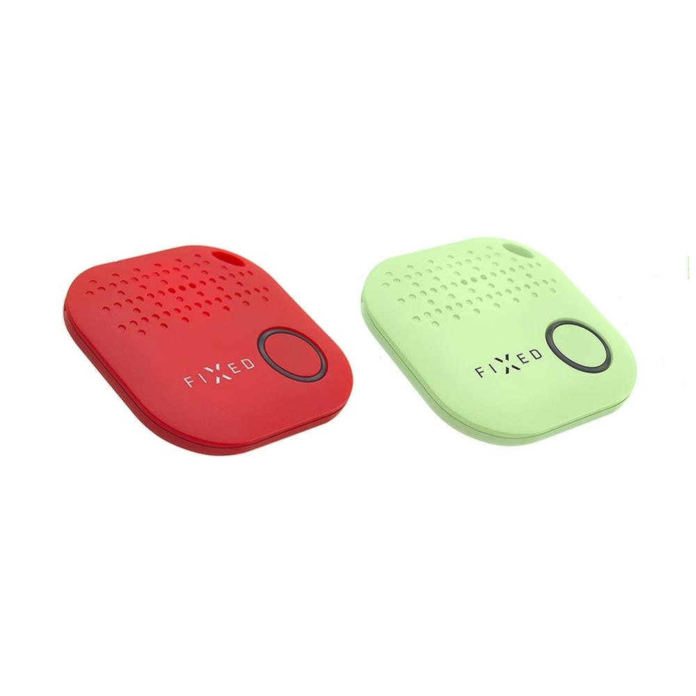 Key finder FIXED Smile, DUO PACK - červený + zelený