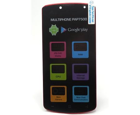 LCD + dotyková jednotka Prestigio PAP7500 DUO black