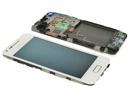 LCD + dotyk + př. kryt Samsung Galaxy S Advance white