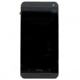 LCD + dotyk + př. kryt HTC ONE /M7 black