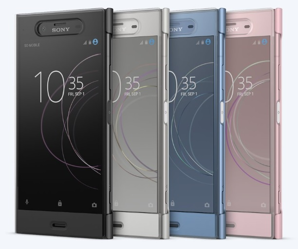 Sony Style Cover Touch pouzdro flip SCTG50 Sony Xperia XZ1 silver