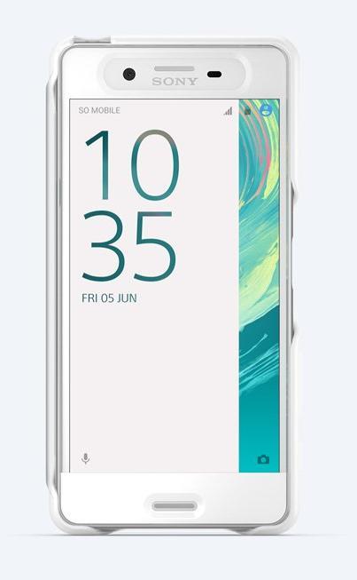 Sony Style Cover Touch pouzdro flip SCR56 Sony Xperia X Performance white