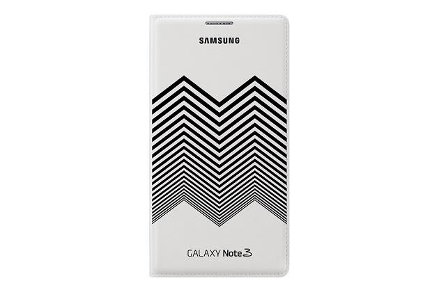Samsung Nicolas Kirkwood pouzdro flip EF-EN900BW Samsung Galaxy Note 3 white/black