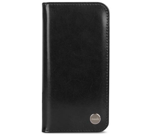 Moshi Overture pouzdro flip Apple iPhone X charcoal black