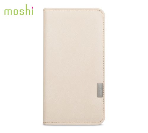 Moshi Overture pouzdro flip Apple iPhone 7 Plus /8 Plus Sahara white