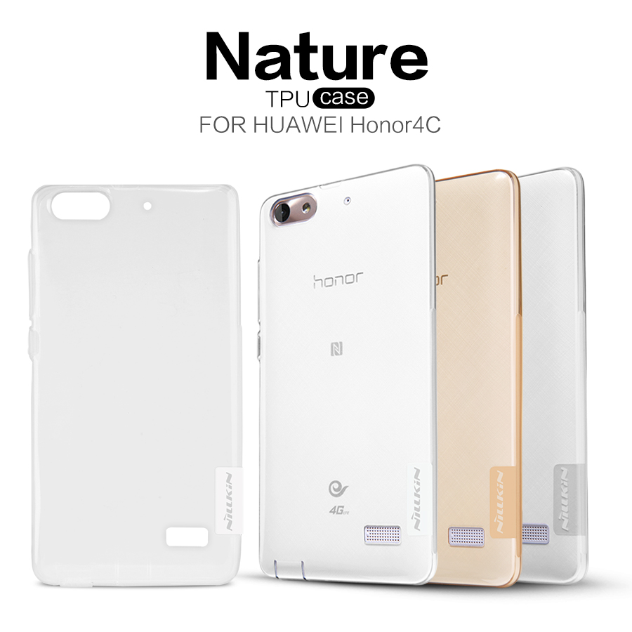 Nillkin Nature silikonové pouzdro pro Huawei Mate 10 Lite, grey
