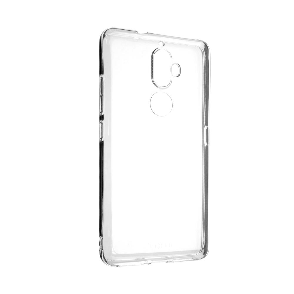 Ultratenké TPU gelové pouzdro FIXED Skin pro Lenovo K8 Plus, 0,5 mm, čiré