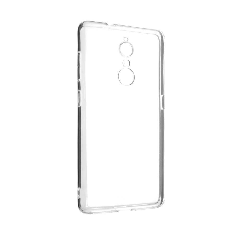 Ultratenké TPU gelové pouzdro FIXED Skin pro Lenovo K8, 0,5 mm, čiré