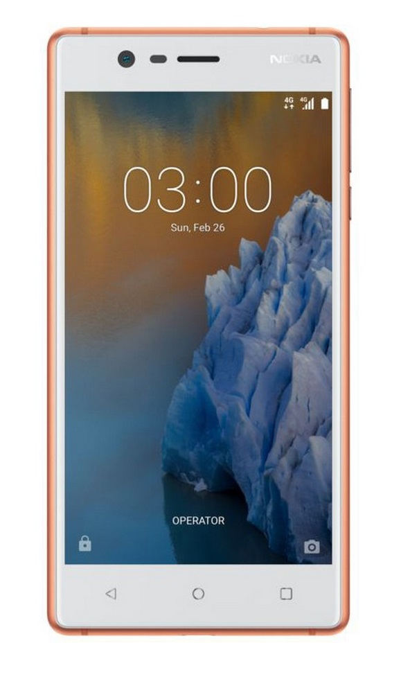 Nokia 3 DS Copper
