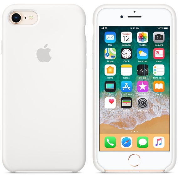 Originální kryt APPLE pro Apple iPhone 8/7, bílá