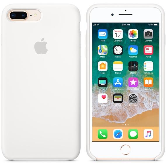 Originální kryt APPLE pro iPhone 8 Plus/7 Plus, bílá