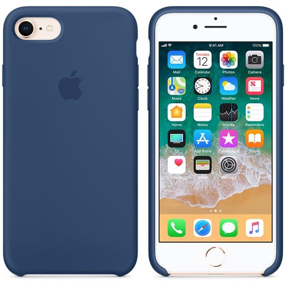 Originální kryt APPLE pro iPhone 8/7, Blue Cobalt