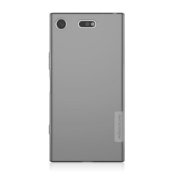 Nillkin Nature silikonové pouzdro pro Sony Xperia XZ1 Compact grey