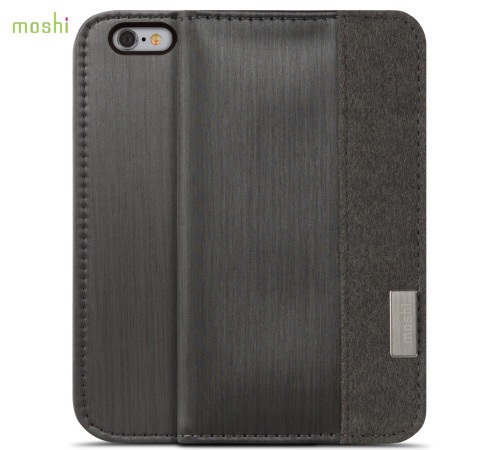 Moshi Overture pouzdro flip Apple iPhone 6 steel black