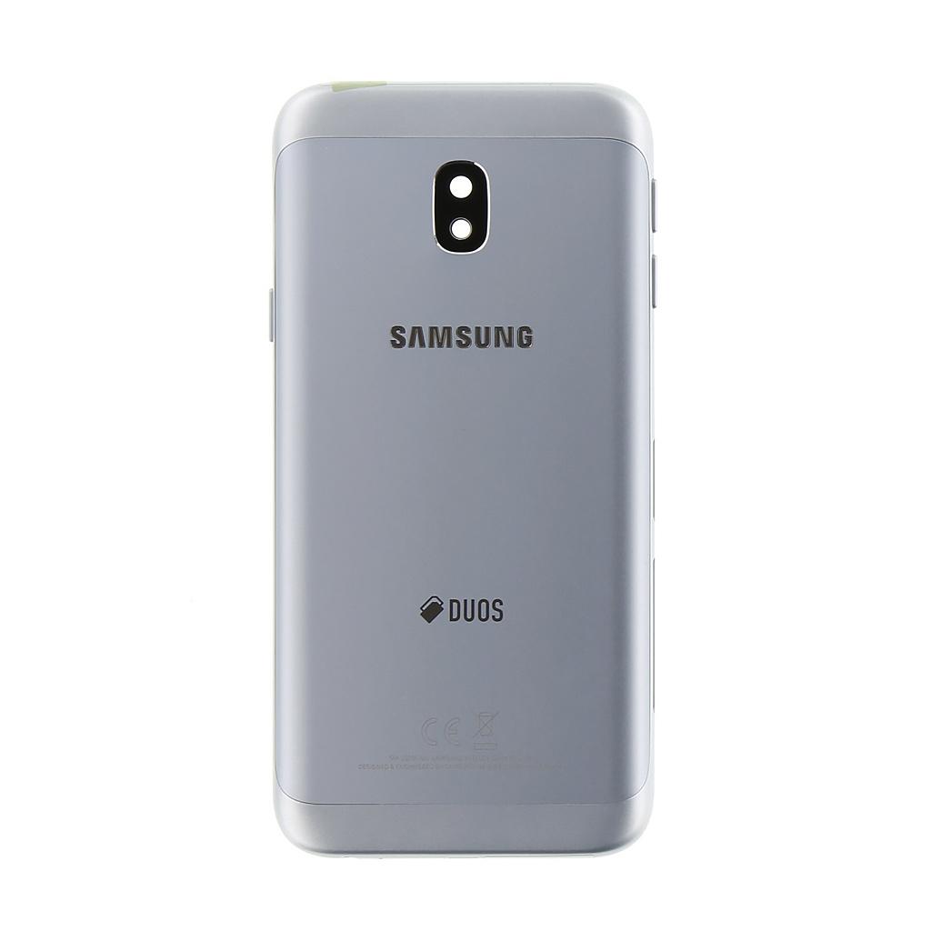 Kryt baterie GH82-14891B Samsung Galaxy J3 2017 silver