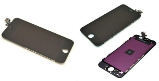 LCD + dotyková jednotka pro Apple iPhone 5 black (originál)
