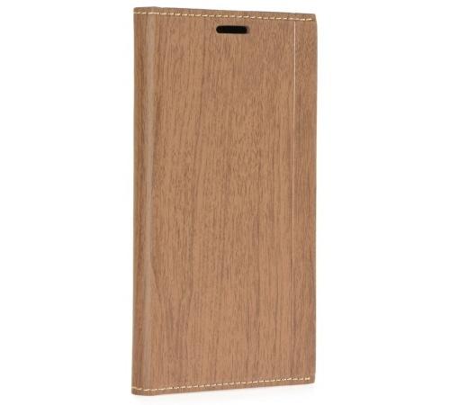 Forcell Wood flipové pouzdro Xiaomi Redmi 4X brown