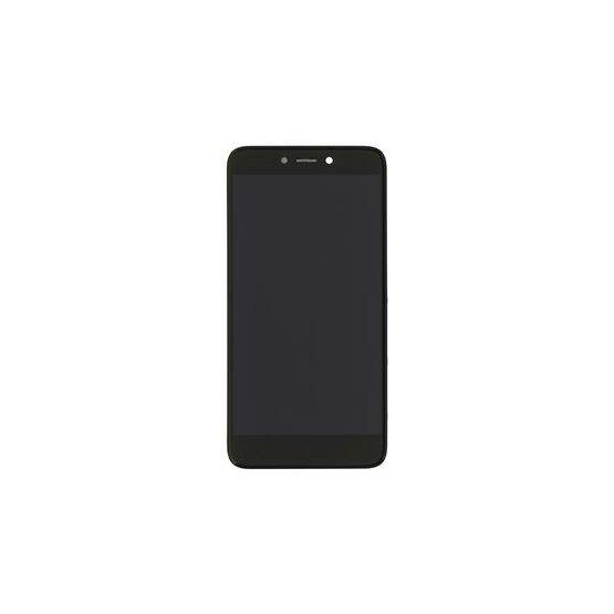 LCD + dotyk + přední kryt pro Xiaomi Redmi Note 4, black
