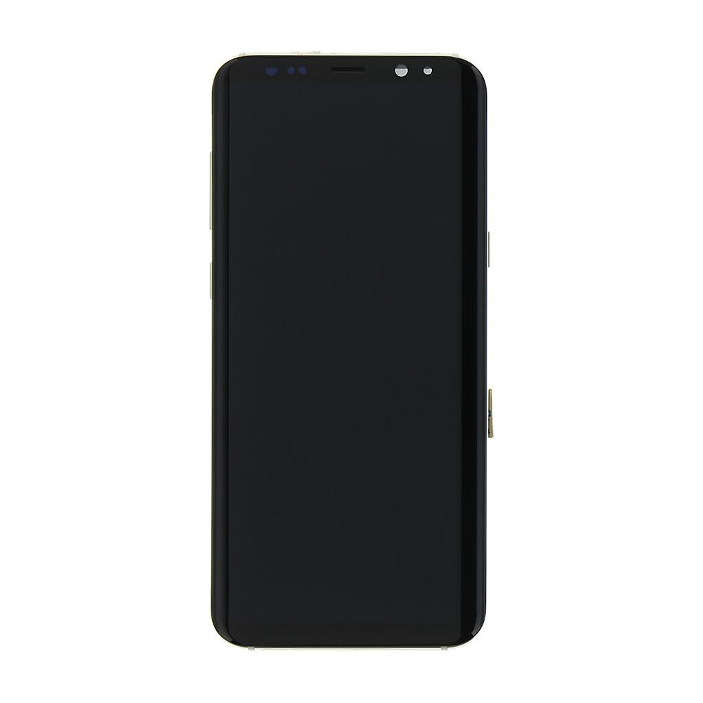 LCD + dotyková deska Samsung Galaxy S8 Plus, gold (service pack)