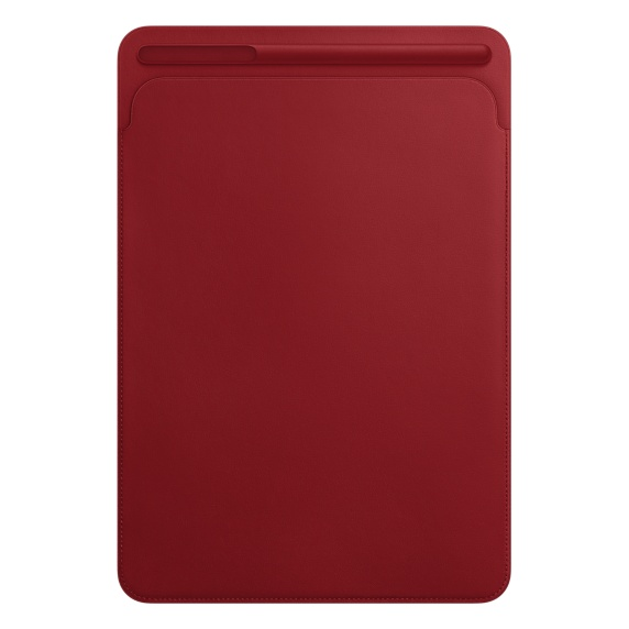 APPLE Leather Sleeve pouzdro Apple iPad Pro 10.5'' red
