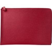 "HP Spectre 13.3"" Split Leather Sleeve pouzdro na notebook empress red"