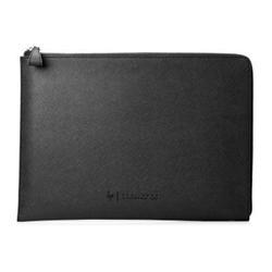 "HP Spectre 15.6"" Split Leather Sleeve pouzdro na notebook silver"