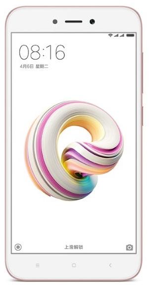 Xiaomi Redmi Note 5A Dual SIM 2/16GB Pink