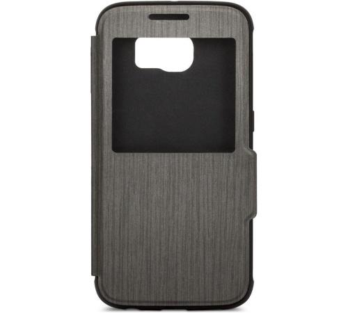 Moshi SenseCover pouzdro flip Samsung Galaxy S6 black