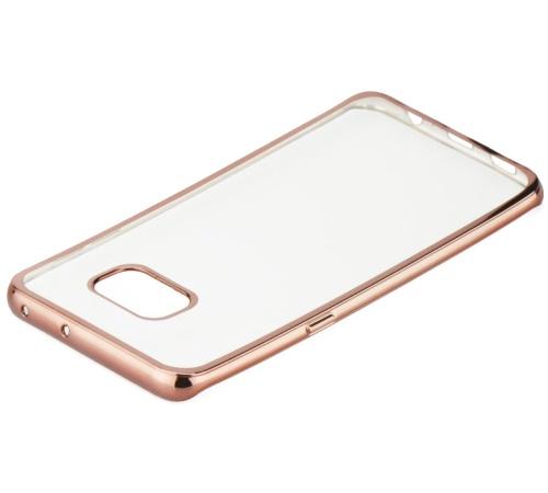 Pouzdro ELECTRO JELLY Samsung Galaxy A3 2017, rose gold