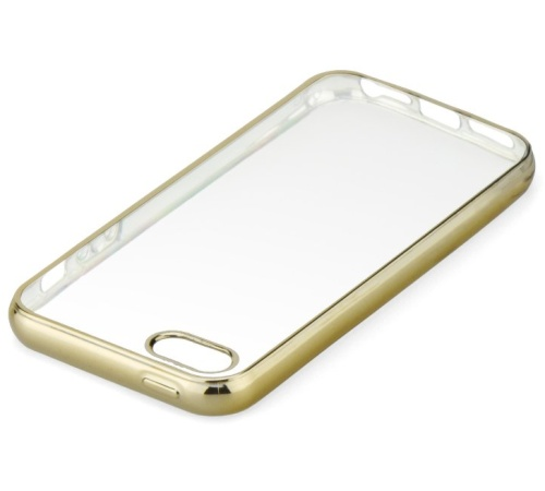 Pouzdro ELECTRO JELLY Samsung Galaxy A3 2017, gold