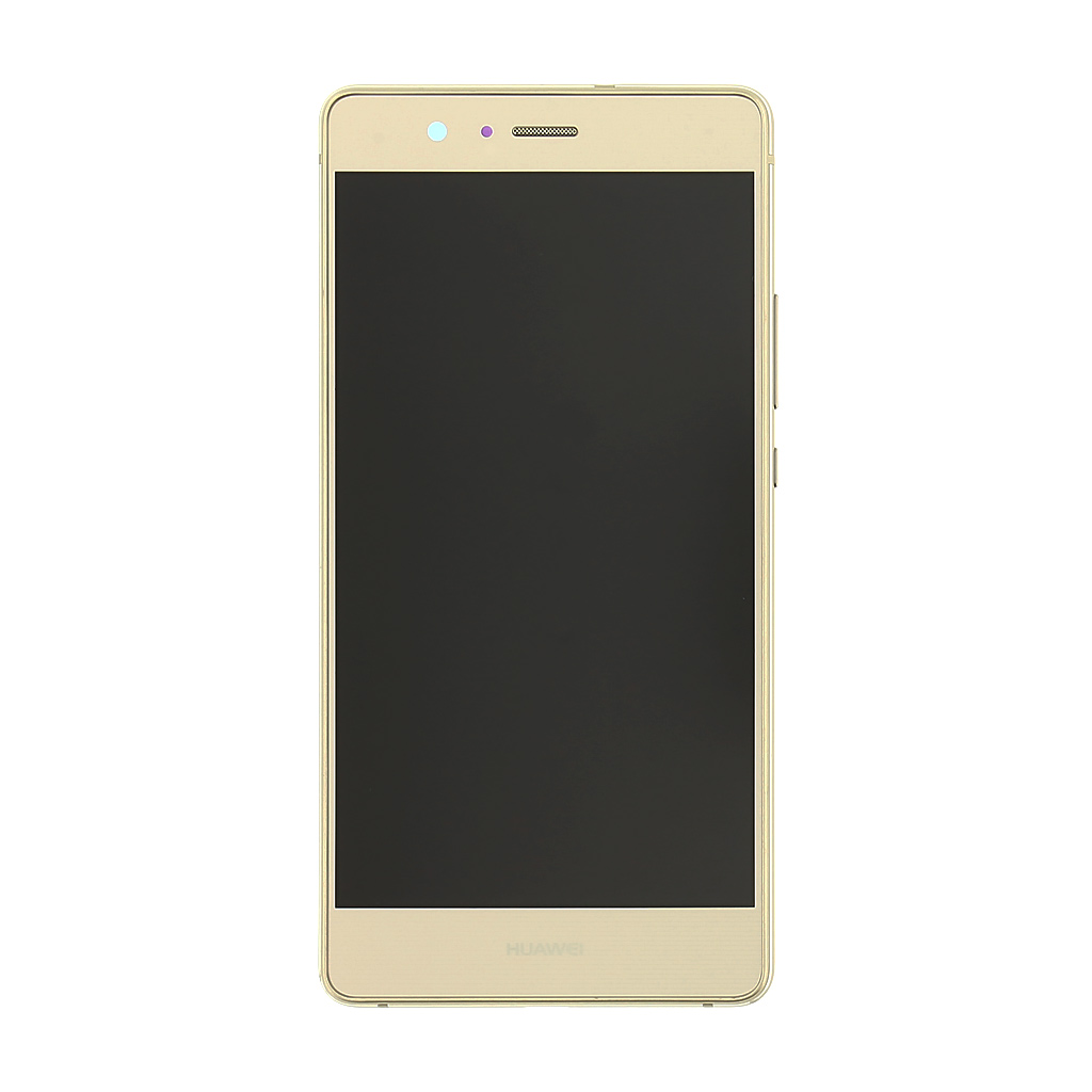 LCD + dotyk + přední kryt Huawei P9, gold (service pack)