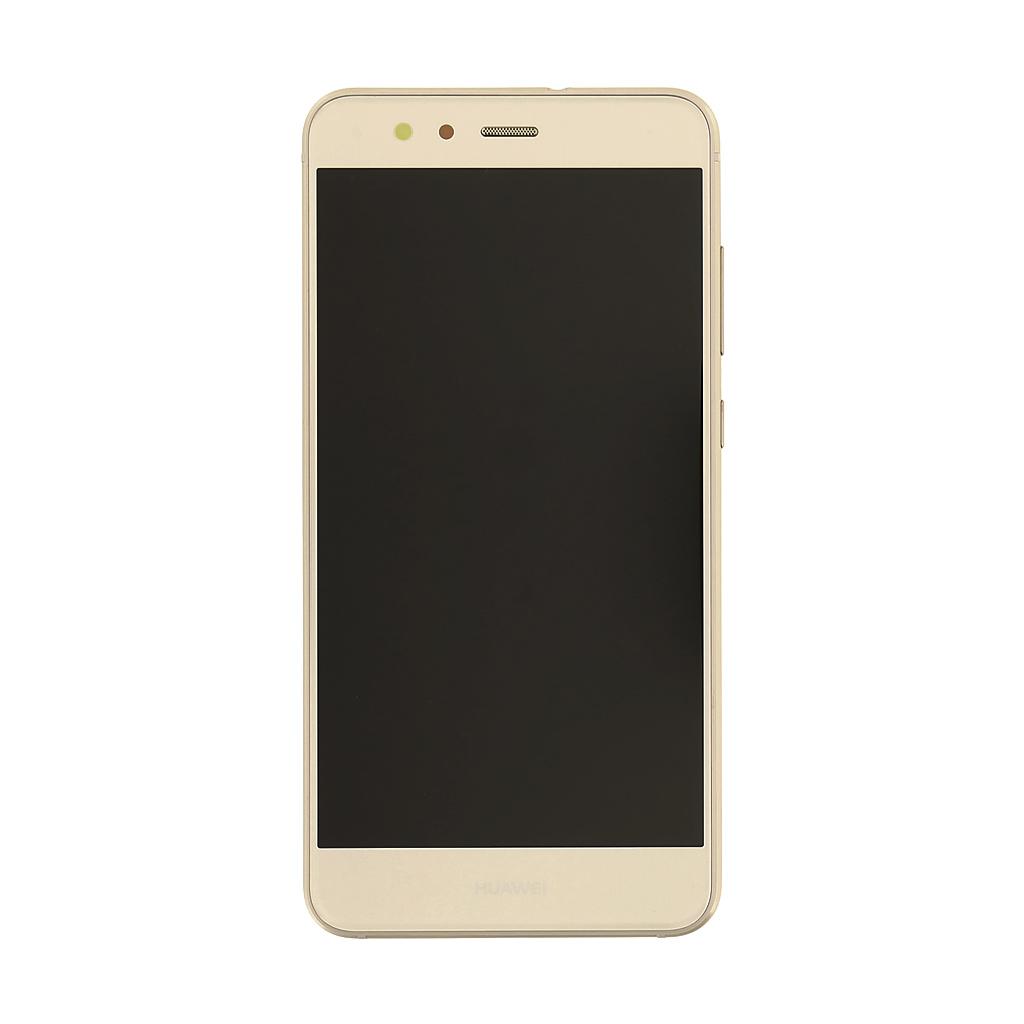 LCD + dotyk + př. kryt Huawei P8 Lite, gold (Service Pack)