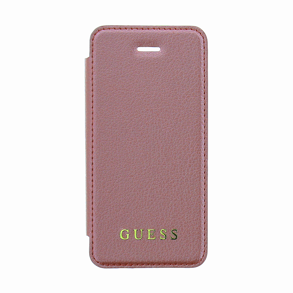 Guess IriDescent Book GUFLBKPSEIGLTRG pouzdro flip Apple iPhone 5/5s/SE pink