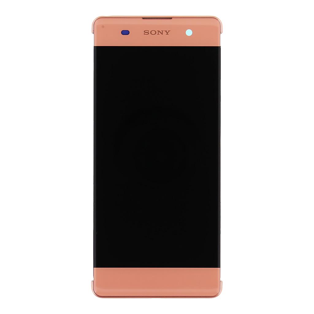 LCD + dotyk + přední kryt Sony Xperia XA, rose gold (service pack)