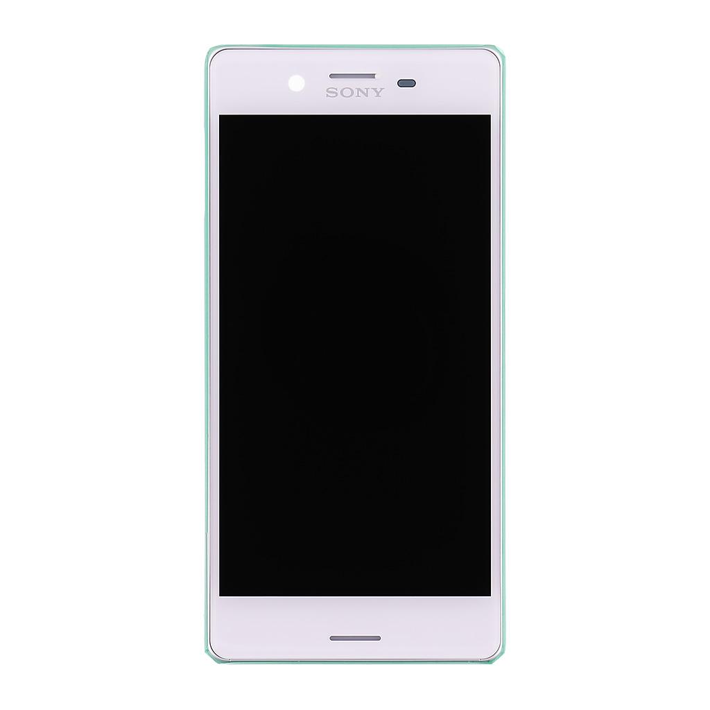 LCD + dotyk + přední kryt Sony Xperia X, white (service pack)