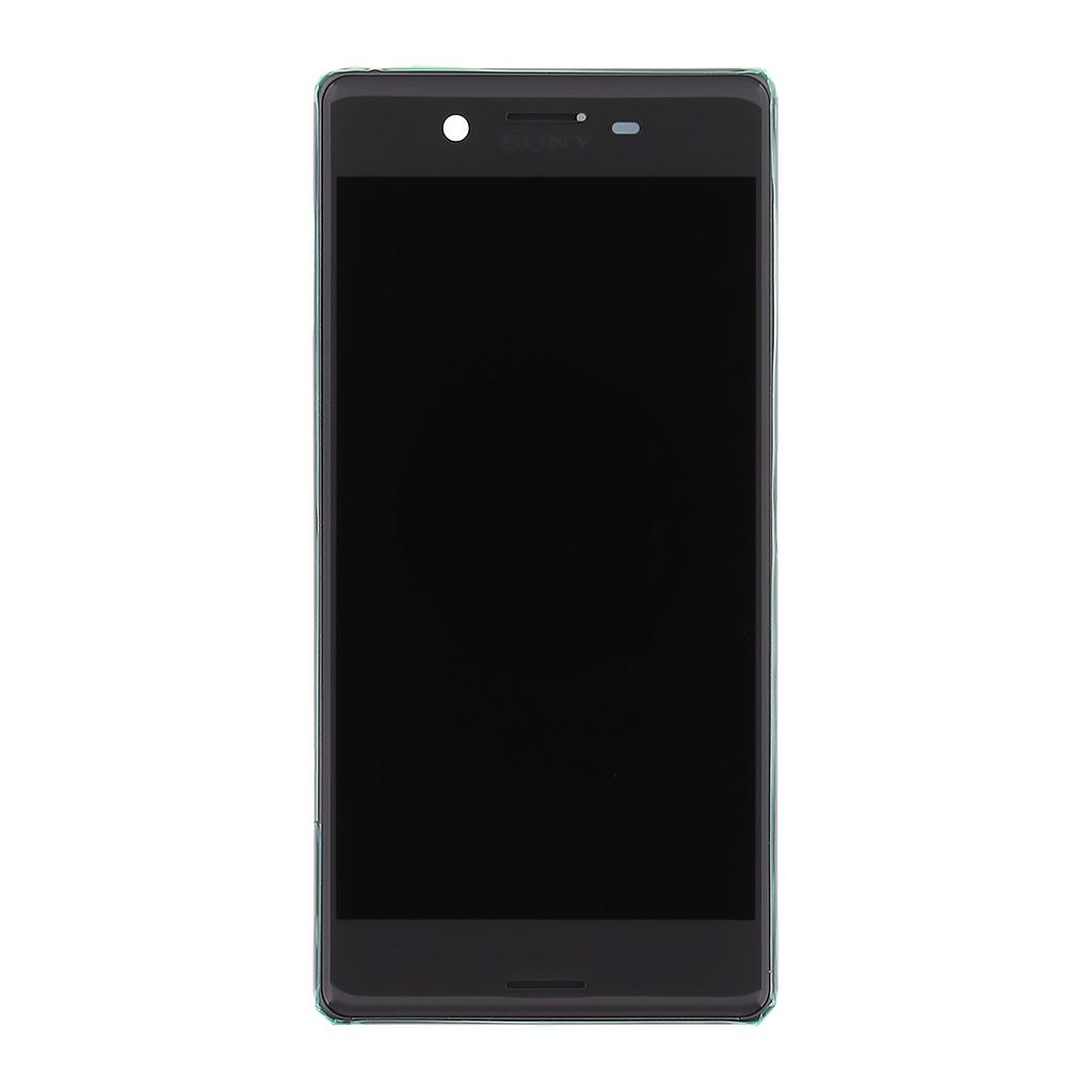 LCD + dotyk + přední kryt Sony Xperia X, black (service pack)