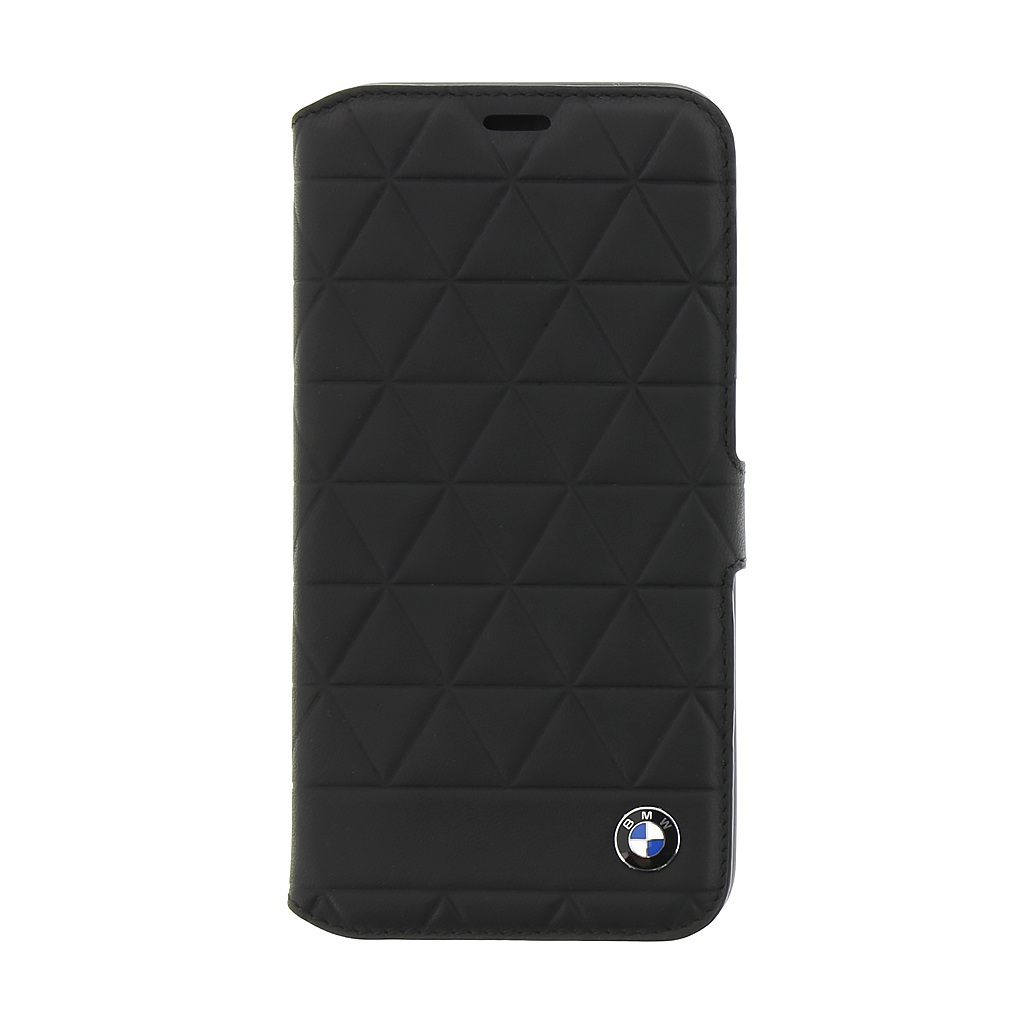 BMW Hexagon pouzdro flip BMFLBKPXHEXBK Apple iPhone X black