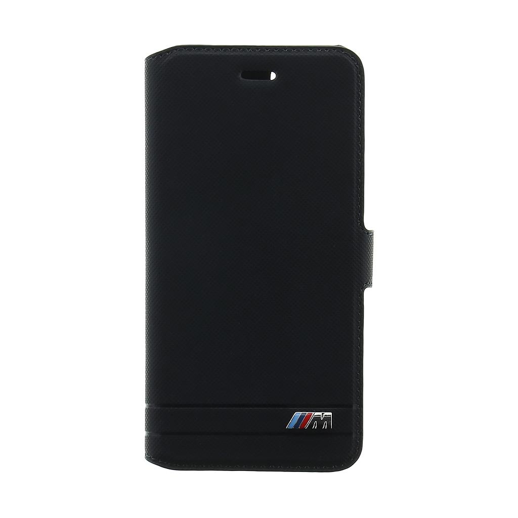 BMW M Experience BMFLBKP7DEDBK pouzdro flip Apple iPhone 7/8 black