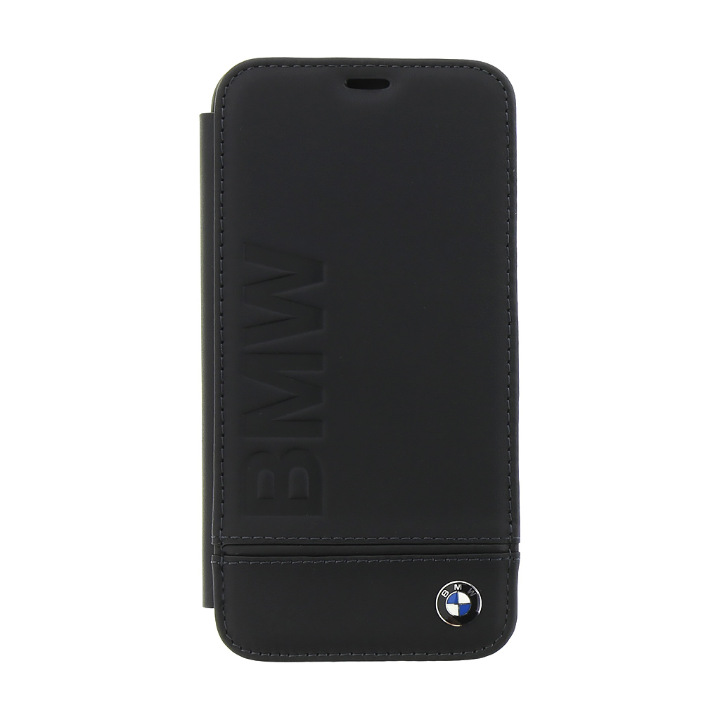 BMW Signature Book BMFLBKPXLLSB pouzdro flip Apple iPhone X black
