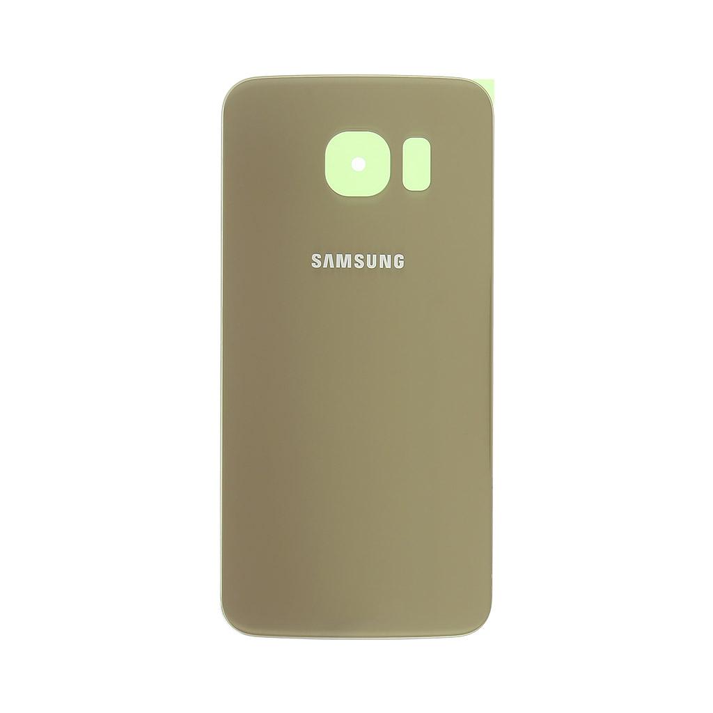 Kryt baterie Samsung Galaxy S6 Edge gold OEM