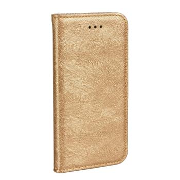 ForCell MAGIC BOOK pouzdro flip APPLE IPHONE 5/5s/SE gold